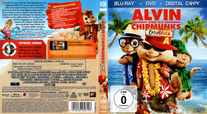 Gmp Alvin Und Die Chipmunks 3 Chipbruch Cover Packshot Poster