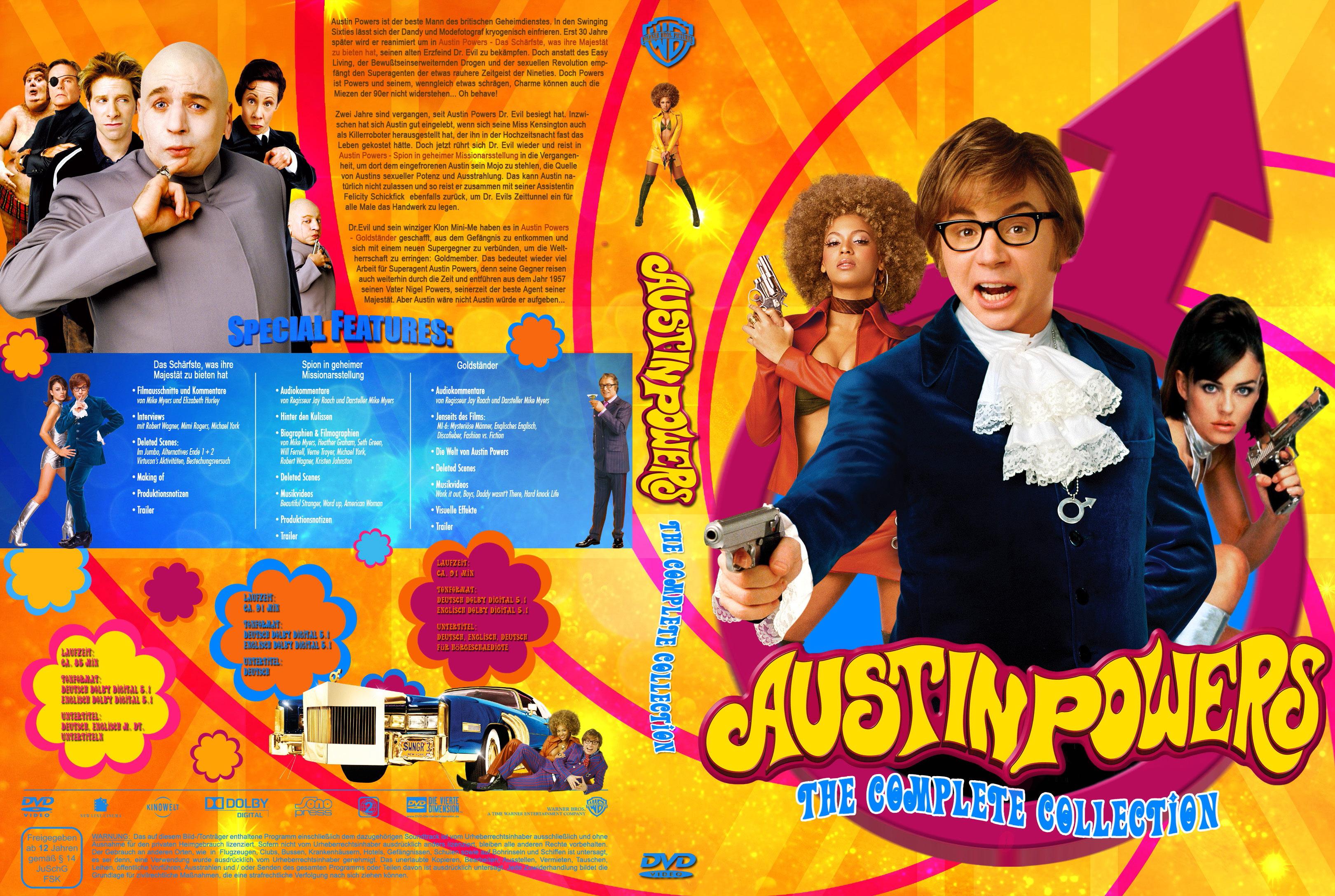 Game Movie Portalch Austin Powers Das Schärfste Was Ihre