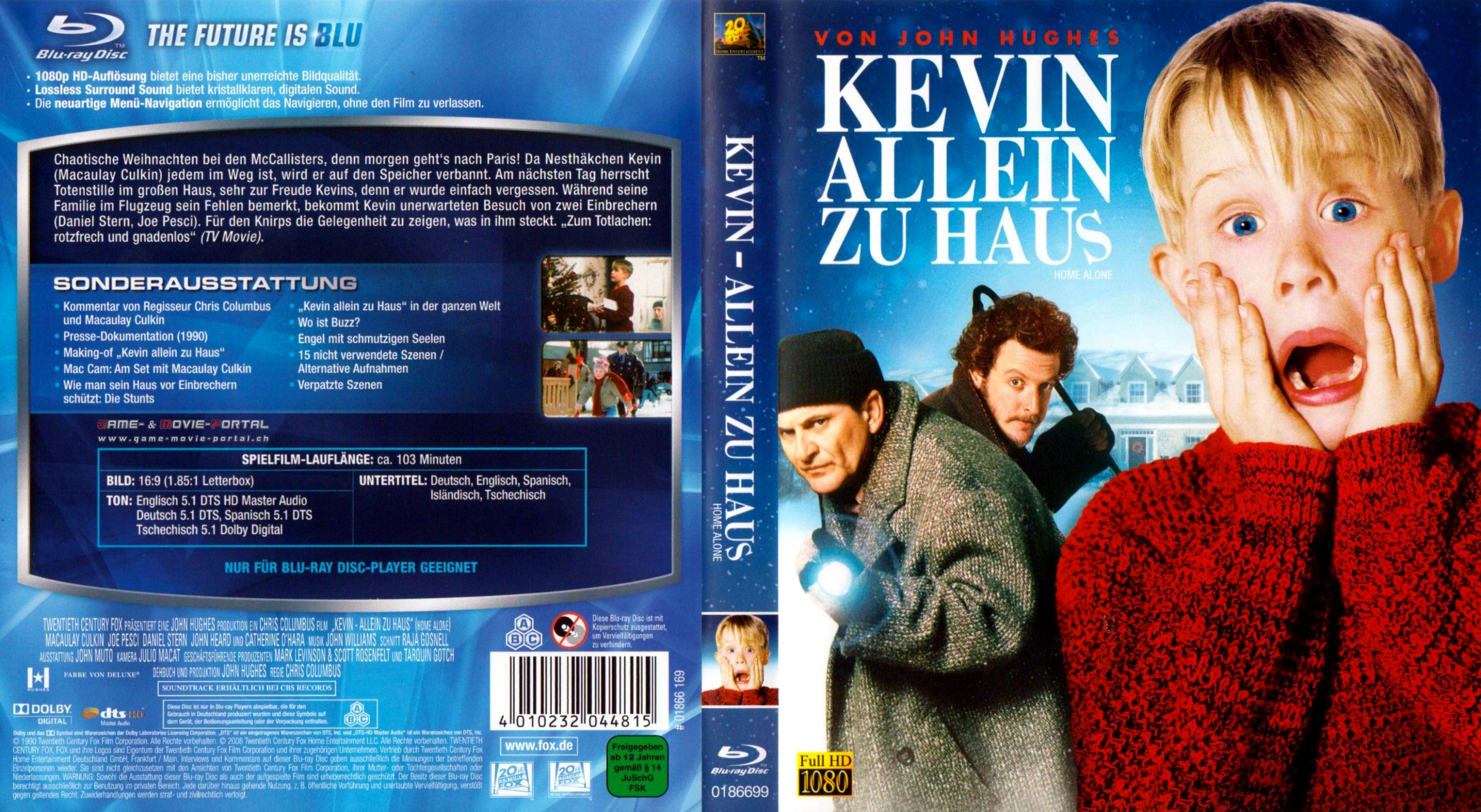 GMP Kevin Allein zu Haus Cover Packshot Poster in