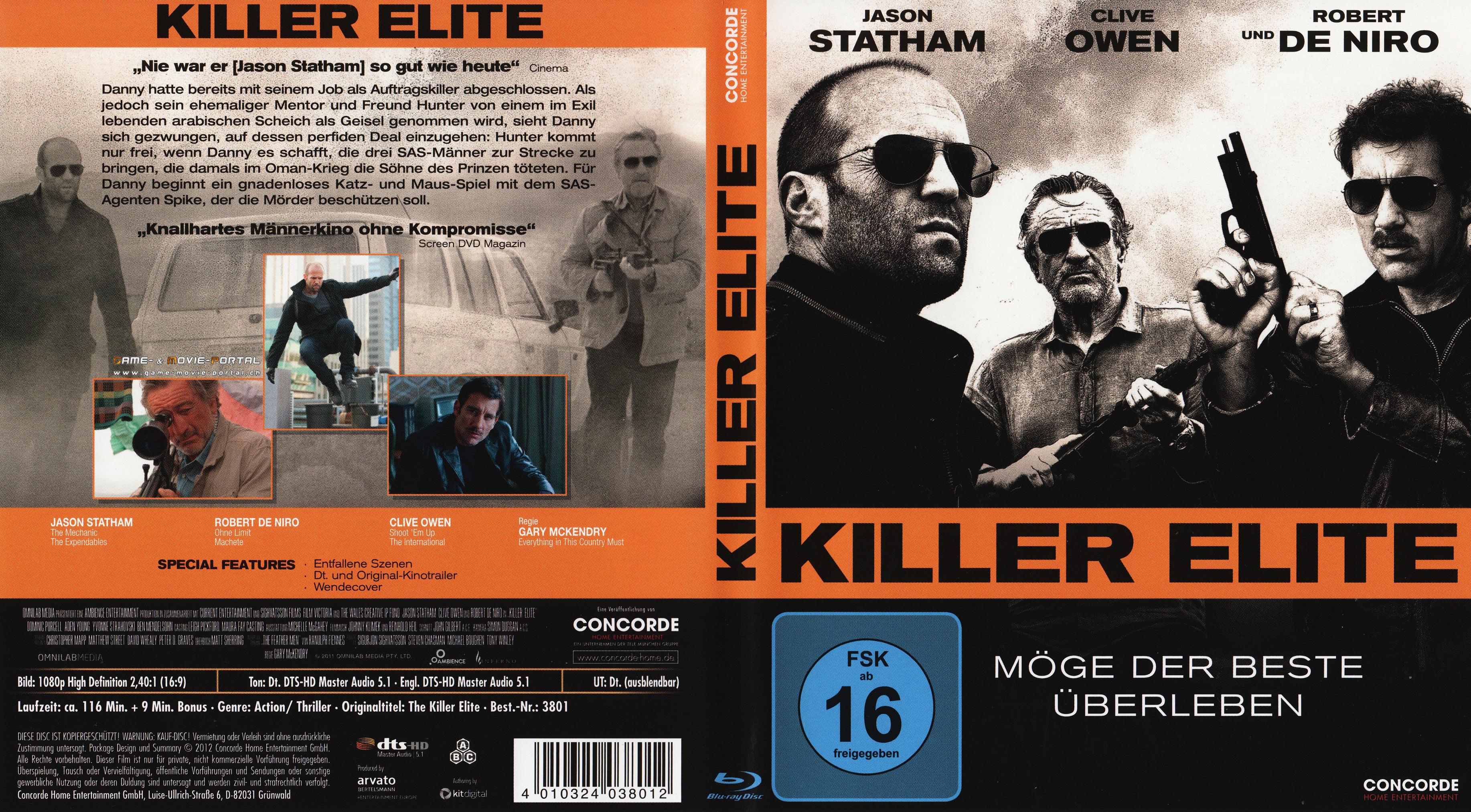 GMP Killer Elite Cover Packshot Poster In High Quality
