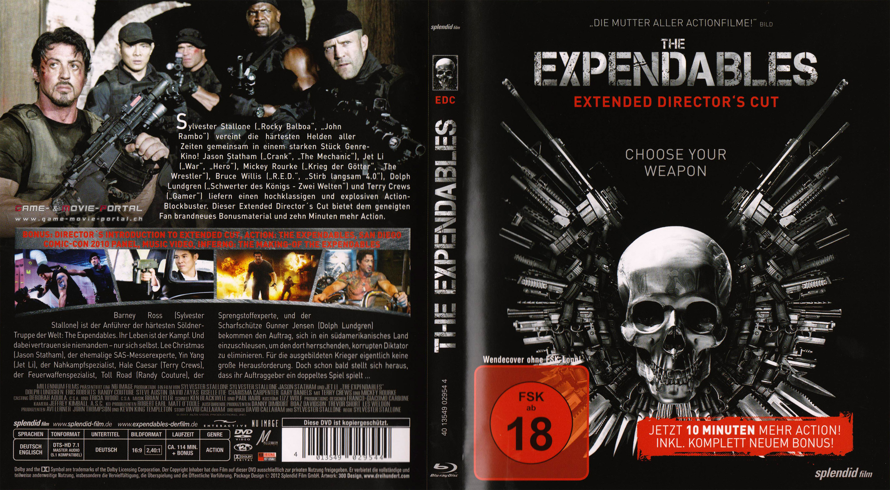 GMP The Expendables Cover Packshot Poster In High Quality