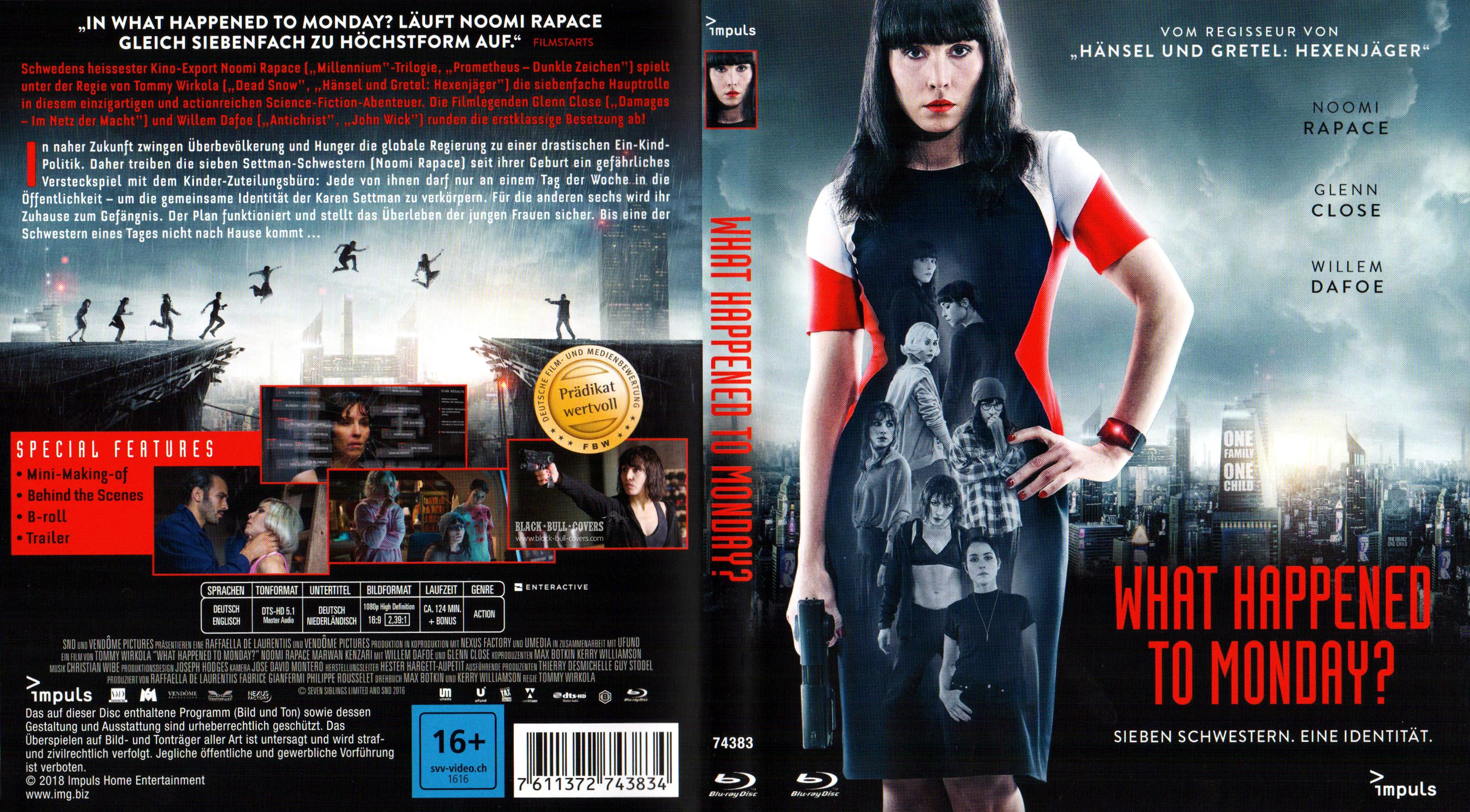 GMP What Happened To Monday Cover Packshot Poster In